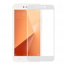 Захисне скло MakeFuture Full Cover Full Glue Xiaomi Redmi 5A White