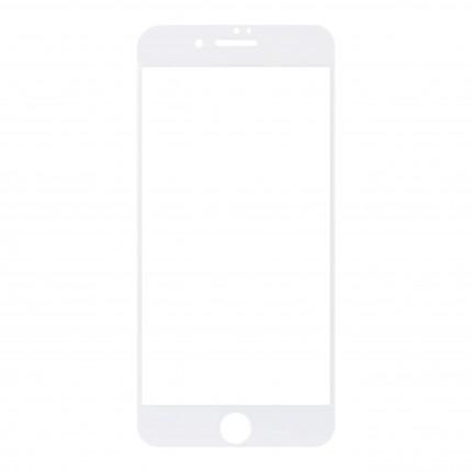 Захисне скло MakeFuture Full Cover Apple iPhone 7 Plus White