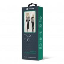 USB-Кабель MakeFuture Type-C (2.4 A) Denim Grey 1м