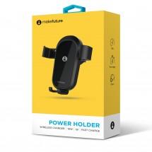 Зарядний пристрій бездротовий з автотримачем PowerHolder 10Вт