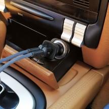 Зарядний пристрій автомобільний 2.4A 2USB Black