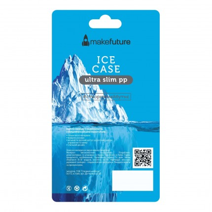 Кейс MakeFuture Ice Apple iPhone 6 Grey