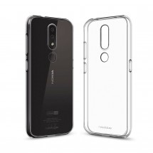 Кейс MakeFuture Air Nokia 4.2 Clear