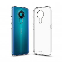 Кейс MakeFuture Nokia 3.4 Air Clear