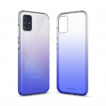 Кейс MakeFuture Samsung A51 Gradient Blue