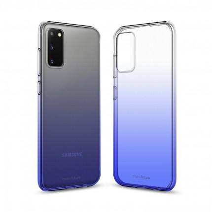 Кейс MakeFuture Samsung S20 Gradient Blue