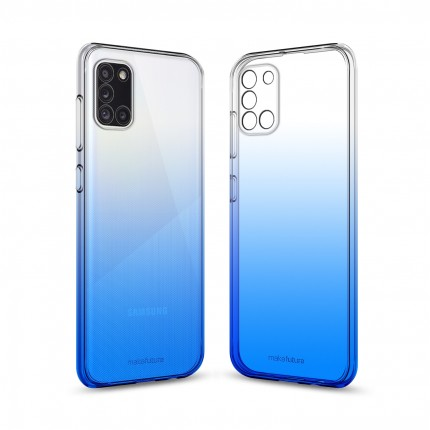 Кейс MakeFuture Gradient Samsung A31 Blue