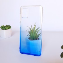 Кейс MakeFuture Samsung A71 Gradient Blue