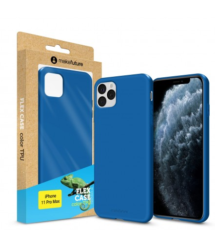 Кейс MakeFuture Flex Apple iPhone 11 Pro Max Blue