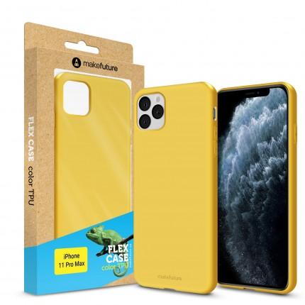Кейс MakeFuture Flex Apple iPhone 11 Pro Max Yellow