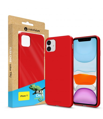 Кейс MakeFuture Flex Apple iPhone 11 Red