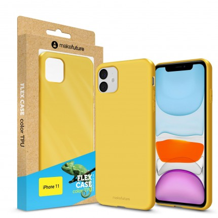 Кейс MakeFuture Apple iPhone 11 Flex Yellow