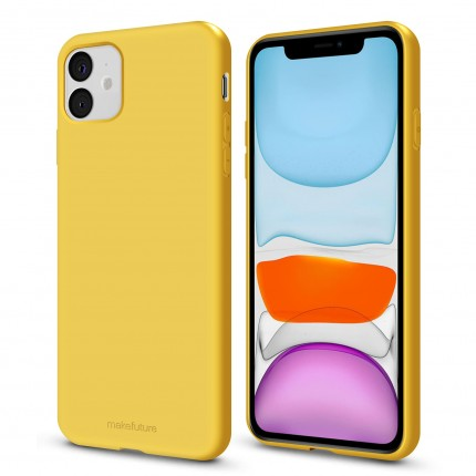 Кейс MakeFuture Flex Apple iPhone 11 Yellow