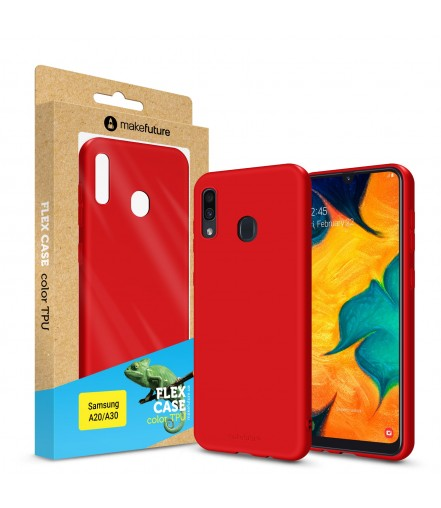 Кейс MakeFuture Flex Samsung A20/A30 Red