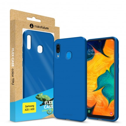 Кейс MakeFuture Flex Samsung A20/A30 Blue