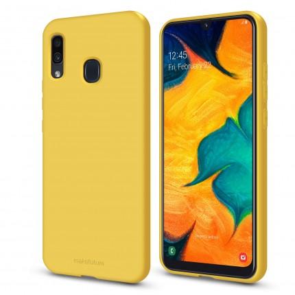 Кейс MakeFuture Flex Samsung A20/A30 Yellow