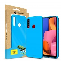 Кейс MakeFuture Flex Samsung A20s Light Blue