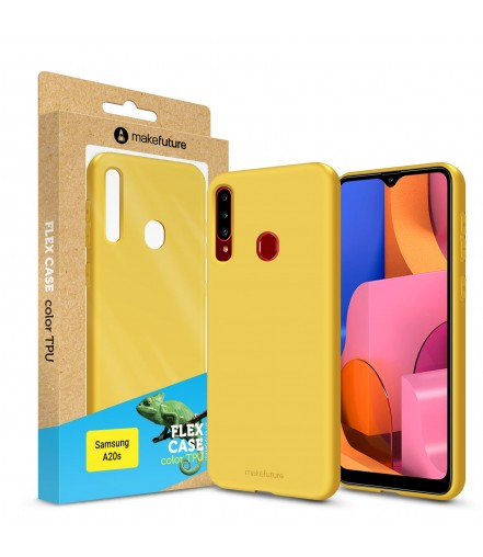 Кейс MakeFuture Flex Samsung A20s Yellow
