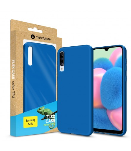 Кейс MakeFuture Flex Samsung A30s Blue