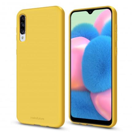 Кейс MakeFuture Flex Samsung A30s Yellow