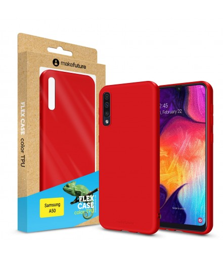 Кейс MakeFuture Flex Samsung A50 Red