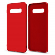 Кейс MakeFuture Flex Samsung S10 Red