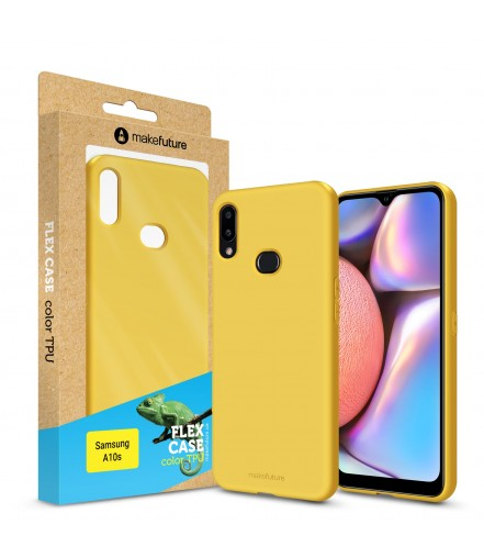 Кейс MakeFuture Flex Samsung A10s Yellow
