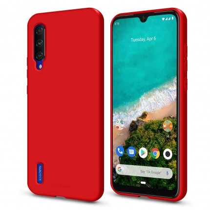 Кейс MakeFuture Flex Xiaomi Mi A3 Red