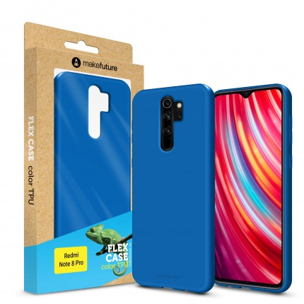 Кейс MakeFuture Flex Xiaomi Redmi Note 8 Pro Blue