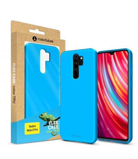 Кейс MakeFuture Flex Xiaomi Redmi Note 8 Pro Light Blue