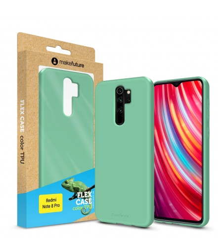 Кейс MakeFuture Flex Xiaomi Redmi Note 8 Pro Olive