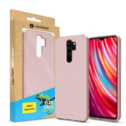 Кейс MakeFuture Flex Xiaomi Redmi Note 8 Pro Rose