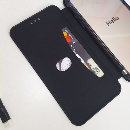 Чохол-книжка MakeFuture Flip Case Huawei P Smart Plus 2019 Black