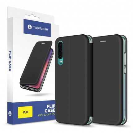 Чохол-книжка MakeFuture Flip Case Huawei P30 Black