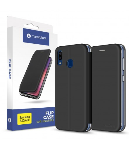 Чохол-книжка MakeFuture Flip Case Samsung A20/A30 Black
