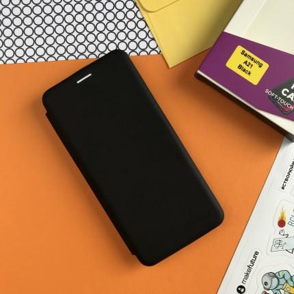 Чохол-книжка MakeFuture Flip Case Samsung A21 Black