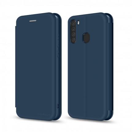 Чохол-книжка MakeFuture Flip Case Samsung A21 Blue