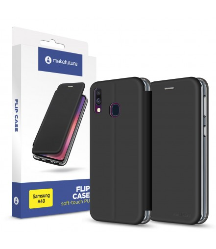 Чохол-книжка MakeFuture Flip Case Samsung A40 Black