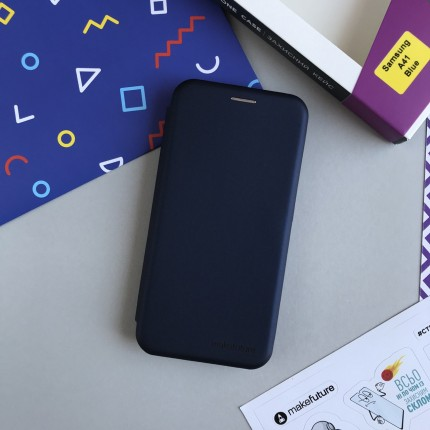 Чохол-книжка MakeFuture Flip Case Samsung A41 Blue