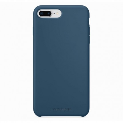 Кейс MakeFuture Silicone Apple iPhone 7 Plus/8 Plus Blue