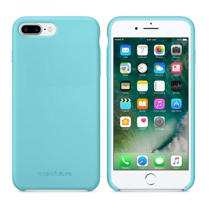 Кейс MakeFuture Silicone Apple iPhone 7 Plus/8 Plus Light Blue