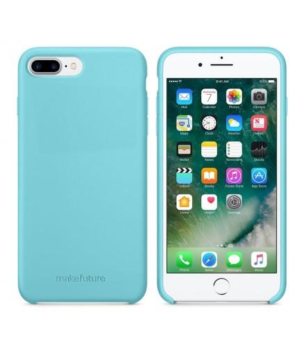 Кейс MakeFuture Apple iPhone 7 Plus/8 Plus Silicone Light Blue