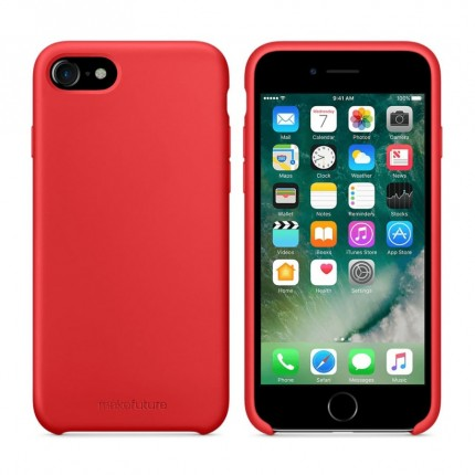 Чохол MakeFuture Apple iPhone 7/8 Silicone Red