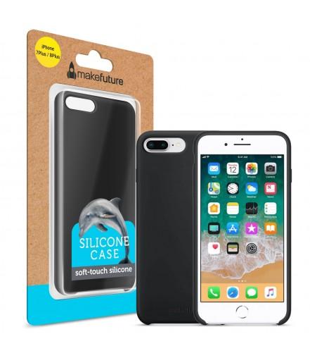 Кейс MakeFuture Apple iPhone 7 Plus/8 Plus Silicone Black