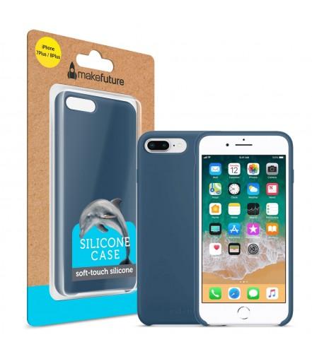 Кейс MakeFuture  Apple iPhone 7 Plus/8 PlusSilicone Blue