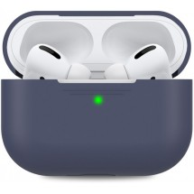 Чохол для навушників Makefuture Apple AirPods Pro Silicone Blue