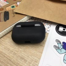 Чохол для навушників MakeFuture Apple AirPods Pro Silicone Black
