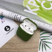 Чохол для навушників MakeFuture Apple AirPods Silicone Green