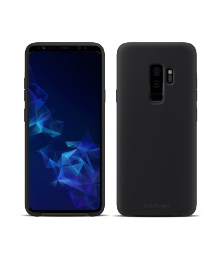 Кейс MakeFuture Samsung S9 Plus Silicone Black