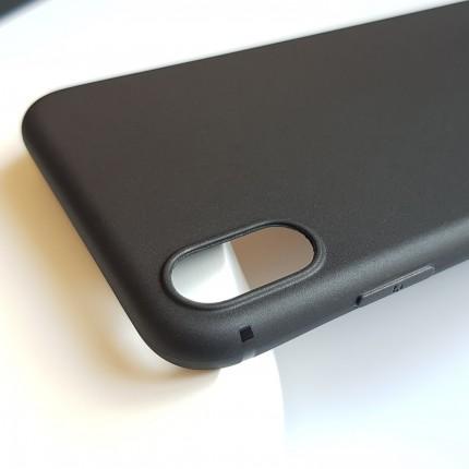 Кейс MakeFuture Apple iPhone XS Max Skin Black